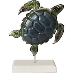 Fancy That Palm Breeze Sea Turtle on Stand Figurine