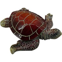 Fancy That Palm Breeze Large Sea Turtle Figurine