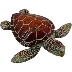 Fancy That Palm Breeze Small Sea Turtle Figurine
