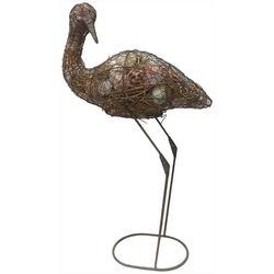 Fancy That Palm Breeze Wire Crane Figurine