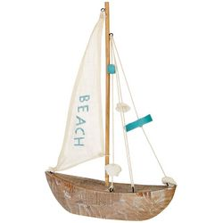Fancy That Palm Breeze Sail Sailboat Figurine