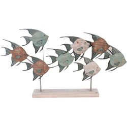 Fancy That Palm Breeze School of Fish on Base Figurine