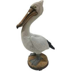 Fancy That Natural Beach Large Resin Pelican Figurine