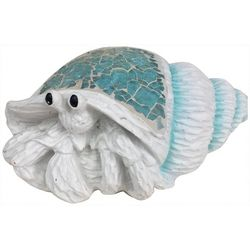 Fancy That Seaside Escape Mosaic Hermit Crab Figurine