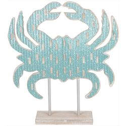 Fancy That Seaside Escape Ridged Crab On Base Figurine