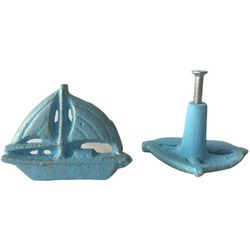 Coastal Home 2-pc. Sailboat Drawer Pull Set