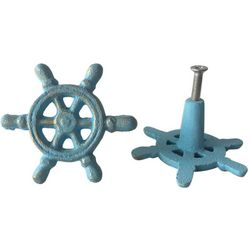Coastal Home 2-pc. Shipwheel Drawer Pull Set