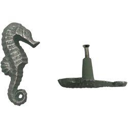 Coastal Home 2-pc. Seahorse Drawer Pull Set