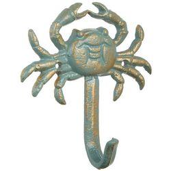 Coastal Home Seagreen Crab Wall Hook
