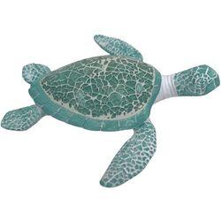 Fancy That Sealife Mosaic Sea Turtle Figurine