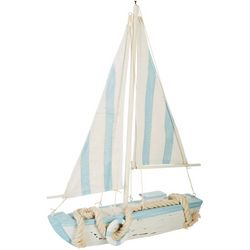 Fancy That Wooden Sailboat Figurine