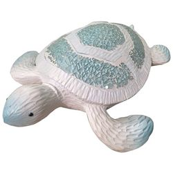 Fancy That Ocean Wave Large Mosaic Sea Turtle Figurine