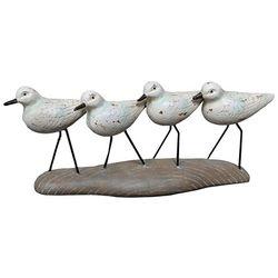 Fancy That Seafoam Shores Shorebird on Base Figurine