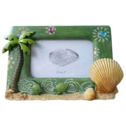 Fancy That 4'' x 6'' Let's Flamingle Palm Tree Photo Frame