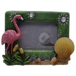 Fancy That 3.5'' x 5'' Let's Flamingle Flamingo Photo Frame