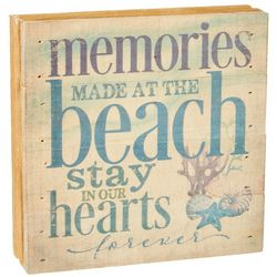 Artistic Reflections Memories Made At The Beach Wood Art