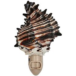 HS Seashells Black Murex Sea Shell Nightlight
