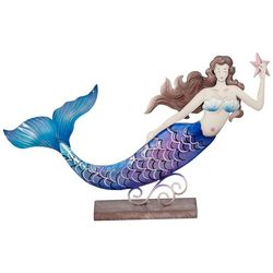 HS Seashells Swimming Mermaid Figurine