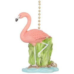 Clementine Design Flamingo Fan Pull