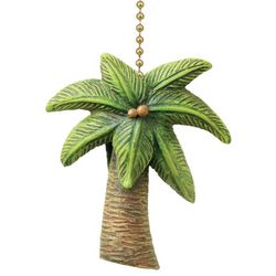 Clementine Design Palm Tree Fan Pull