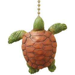 Clementine Design Turtle Fan Pull