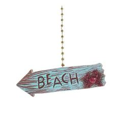 Clementine Design Beach Arrow Fan Pull
