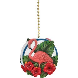 Clementine Design Flamingo Oasis Fan Pull
