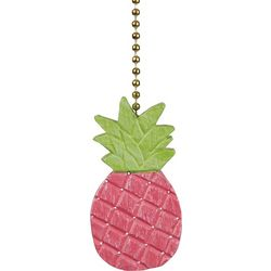 Clementine Design Pink Pineapple Fan Pull