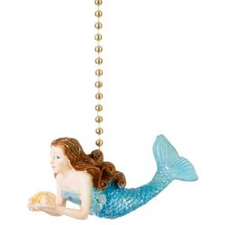 Clementine Design Ocean Mermaid Fan Pull