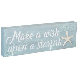 Malden Make A Wish Upon A Starfish Sign