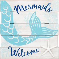 Malden Mermaids Welcome Sign