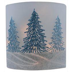 Stony Creek Christmas Tree Flat Lighted Vase