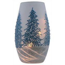 Stony Creek Christmas Tree Lighted Vase