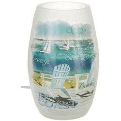 Stony Creek Coastal Beach Lighted Vase