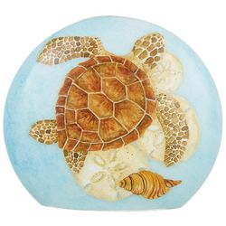 Stony Creek Sea Turtle Round Glass Light