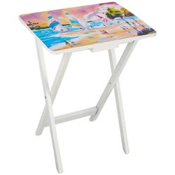 Ellen Negley Up With The Sun TV Tray Table