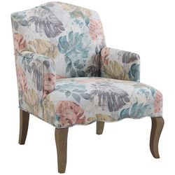 Linon Simon Upholstered Arm Chair
