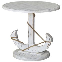 Crestview Anchor Side Table