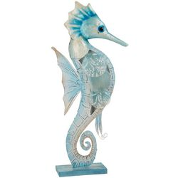 Coastal Home Seahorse Capiz Lamp