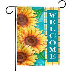 Wincraft Sunflower Welcome Garden Flag