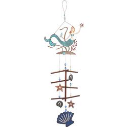 Sunset Vista Designs Mermaid Shell Wind Chime