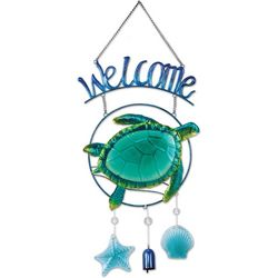 Sunset Vista Turtle Welcome Sign