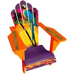 Margaritaville Parrot Sign Logo Adirondack Chair