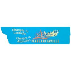 Margaritaville Changes In Latitudes Arrow Sign