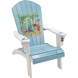 Margaritaville Blue Island Life Adirondack Chair