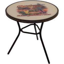 Margaritaville Cheeseburger In Paradise Bistro Outdoor Table