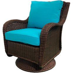 Coastal Home Motion Wicker Chair