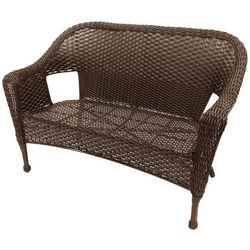 Coastal Home Wicker Patio Loveseat