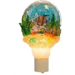 Midwest Shimmering Fish Globe Nightlight