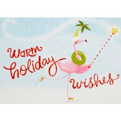 Brighten the Season Warm Holiday Wishes Greeting Cards